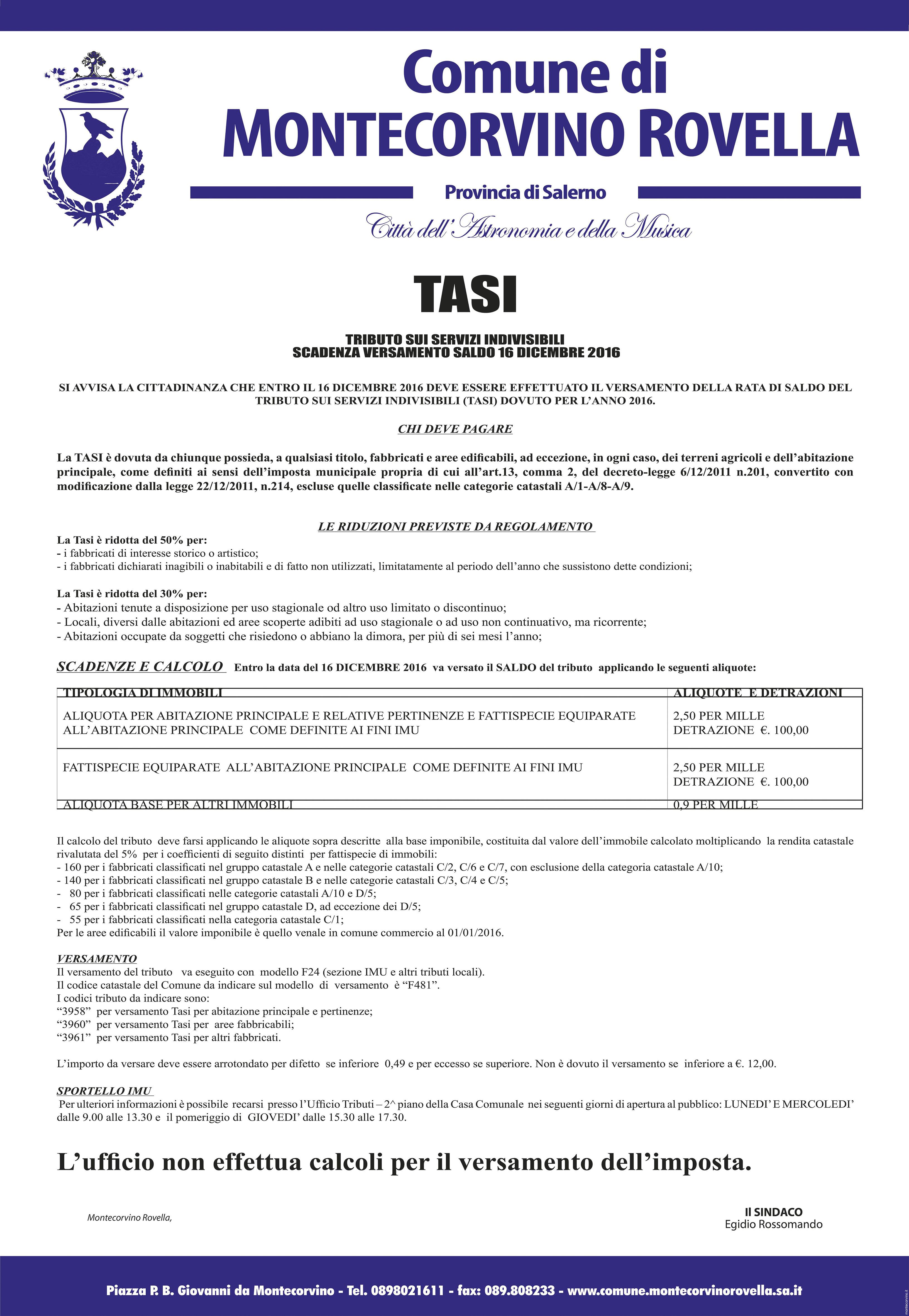 manifesto TASI-2