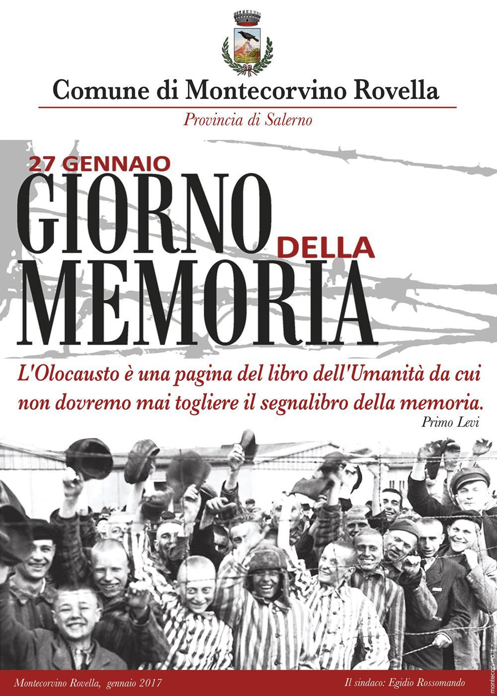 27 GENNAIO – Giorno della Memoria